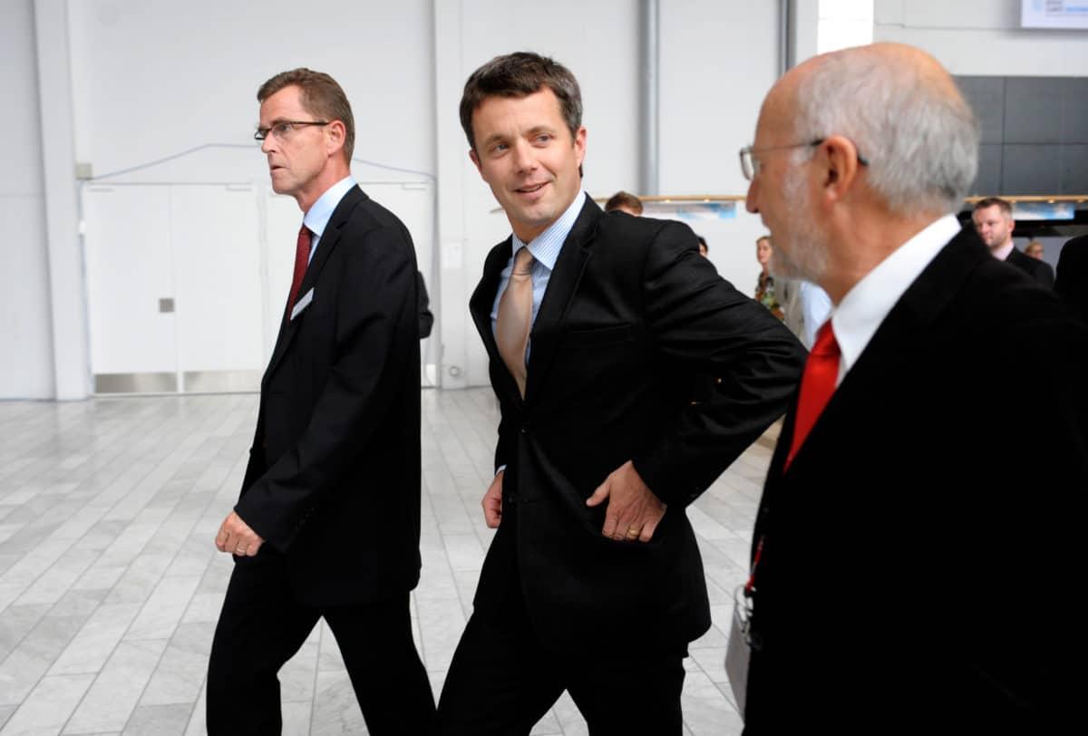 Kronprinsen viser Danmarks sympati med Saudi Arabiens tab