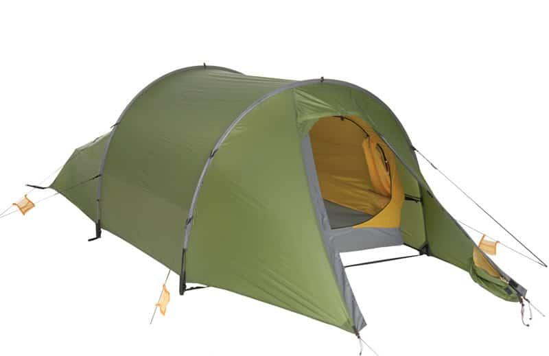 Anmeldelse af EXPED Sirius II Green – behagelig overnatning i telt på trods af kulden