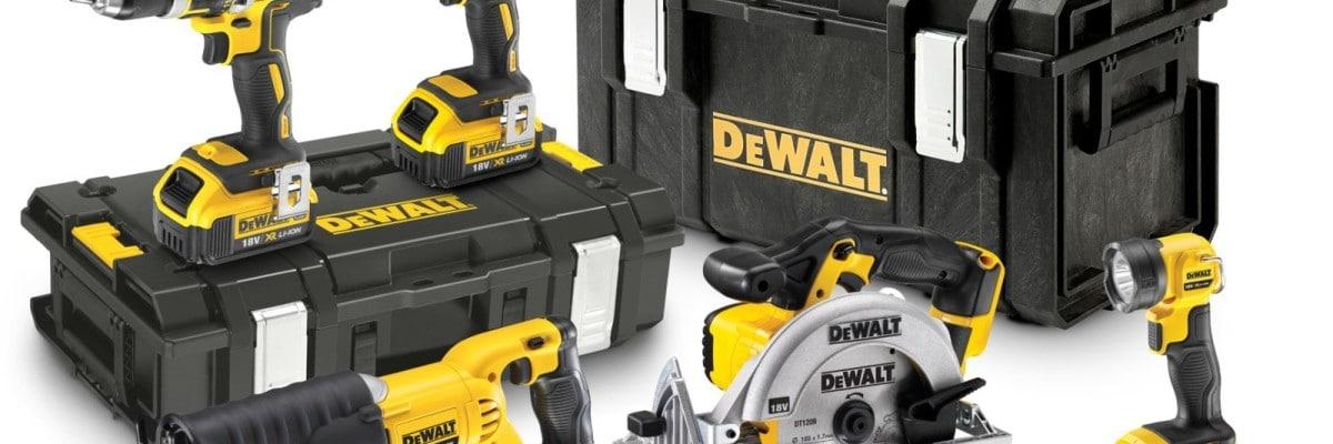 Se hvor du kan få en billig Dewalt 5-pack til at glæde din indre handman.