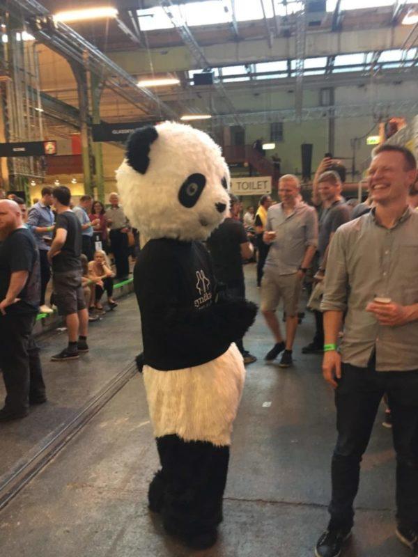 Højt skum – nu med panda