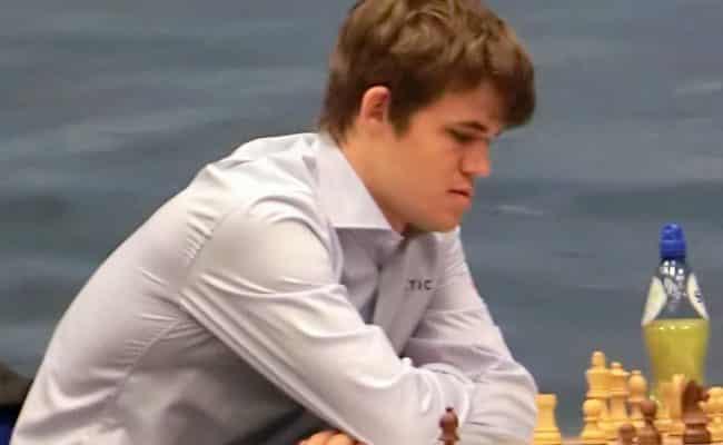 Magnus Carlsen skak