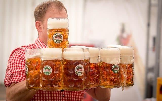 mandeaften med øl