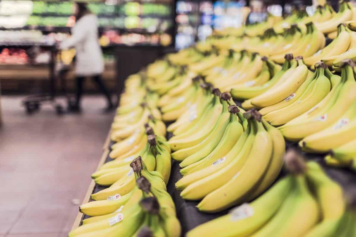 Hvad vejer en banan?