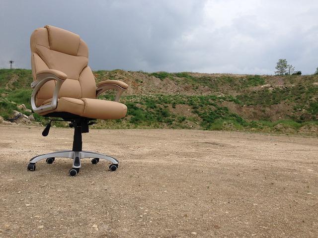 Ergonomiske kontorstole aflaster din ryg